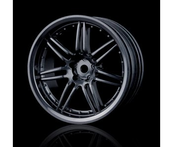 MST X603 Wheel (4) / Black