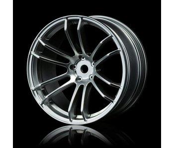 MST TSP Wheel (4) / Flat Silver