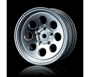 MST 58H Wheel (4) / Flat Silver