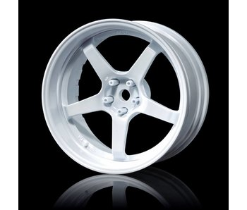 MST GT Wheel Set - Adj. Offset (4) / White-White