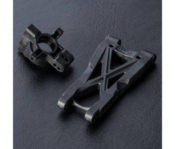 MST HT Rear Lower Arm - 4 Holes & Wheel Hub