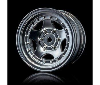 MST 236 Wheel (4) / Flat Silver
