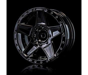 MST 648 Wheel (4) / Silver Black