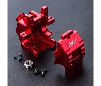 MST FXX Alum. Rear Gear Box / Red