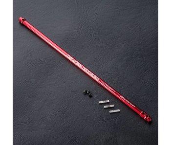 MST XXX Alum. Lightweight Propeller Shaft Set / Red