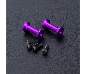 MST FXX Alum. Strengthen Post (2) / Purple
