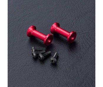 MST FXX Alum. Strengthen Post (2) / Red