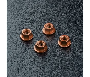 MST Alum. Wheel Nut (4) / Copper