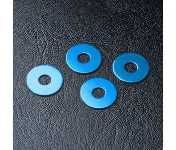 MST Wheel Hub Spacer 1.0mm (4) / Blue