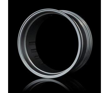 MST Wheel Rim (2) / Flat Silver