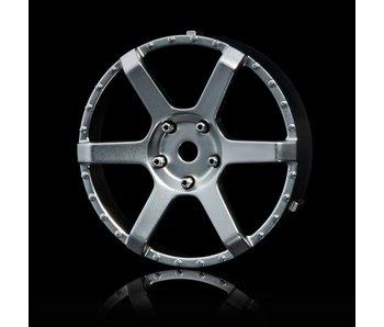 MST 106 Wheel Disk (2) / Flat Silver