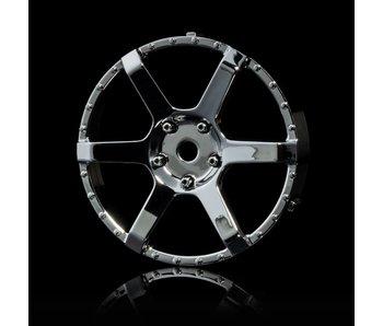MST 106 Wheel Disk (2) / Silver