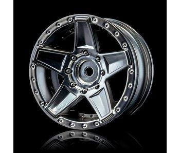 MST 648 Wheel (4) / Flat Silver