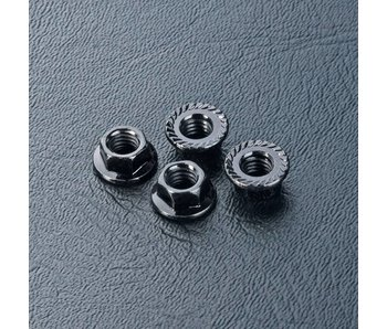 MST Wheel Nut M4 (4) / Black