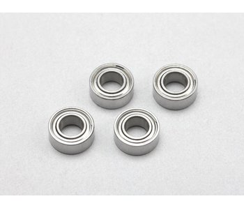 Yokomo Ball Bearing φ5mm x Φ10mm x 4mm Low Friction (4pcs)