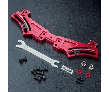 MST FXX Alum. Rear Quick Adj. Damper Stay / Red