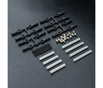 MST CMX Alum. Link Set 242mm / Silver