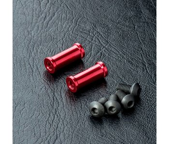 MST Alum. Post M3x13mm (2) / Red