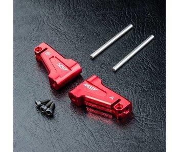 MST RMX 2.0 Alum. Upper Arm Set / Red