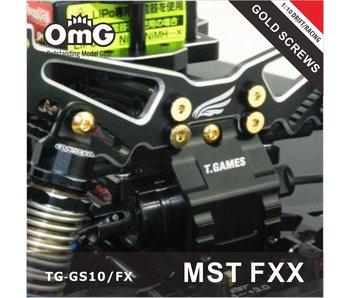 T.GAMES Golden Screw Kit for MST FXX