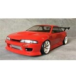 Addiction RC AD017-5 - Nissan Silvia S14 (Early) - BN Sports Body Kit - Full Set