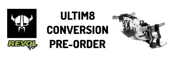 RevolRC ULTIM8 Conversion Kit for Yokomo YD-2