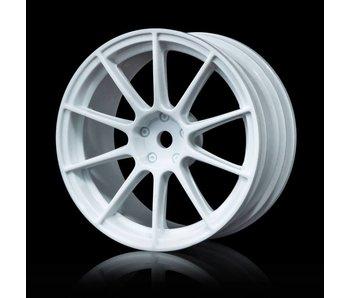 MST 5H Wheel (4) / White