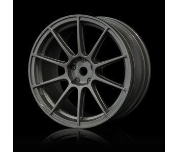 MST 5H Wheel (4) / Silver Grey