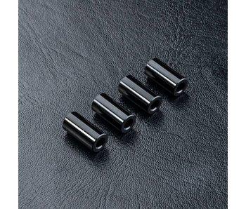 MST Alum. Spacer φ3.0xφ6.0x12.0mm (4) / Black