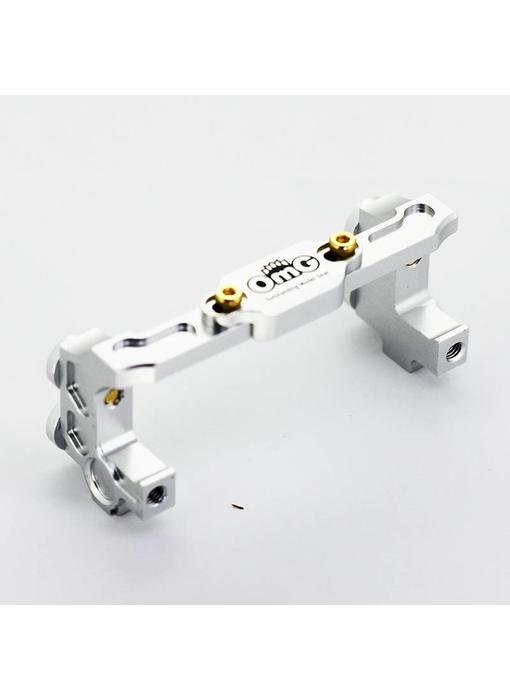RC OMG Aluminium Servo Holder - Silver