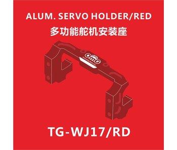 T.GAMES Aluminium Servo Holder - Red