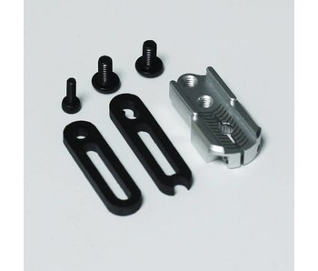 RC OMG Adjustable Servo Horn - Silver