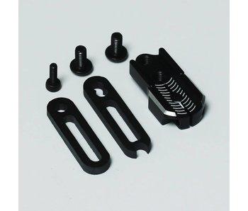 T.GAMES Adjustable Servo Horn - Black