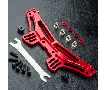 MST RMX 2.0 Alum. Rear Damper Stay / Red