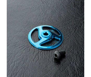 MST Alum. Spur Gear Holder Cover / Blue