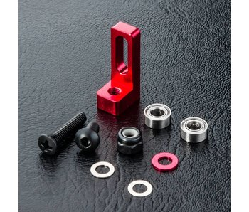MST Alum. Small Belt Pulley Mount / Red