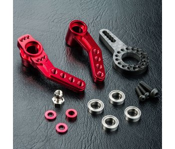 MST RMX 2.0 Alum. Steering Arm / Red