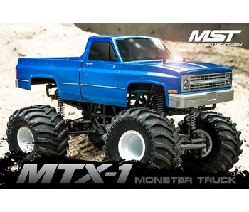 MST MTX-1 Monster Truck RTR - Brushless / Chevrolet C10
