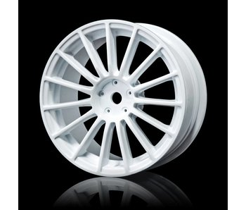 MST LM Wheel 24mm (4) / White