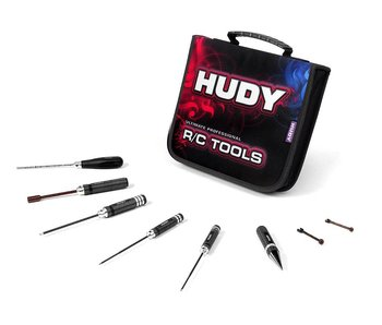 Hudy Tool Set Ultimate  + Carrying Bag for Electric Touring Cars