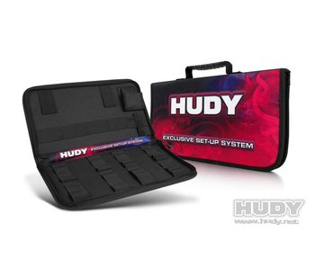 Hudy Complete Set of Set-up Tools + Carrying Bag for 1/10 Touring Cars