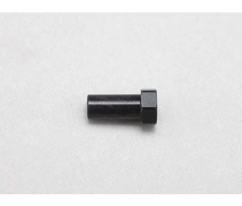 Yokomo Hard Steering Bell Crank Post - Black (1pc)