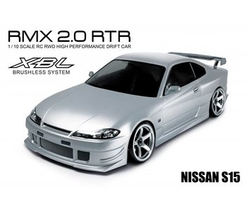 MST RMX 2.0 2WD RTR - Brushless / Nissan Silvia S15 - Silver