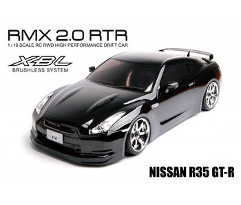MST RMX 2.0 2WD RTR - Brushless / Nissan R35 GT-R - Black