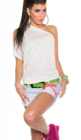 in-stylefashion KouCla One shoulder Shirt