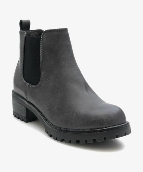Powder Grey Boots