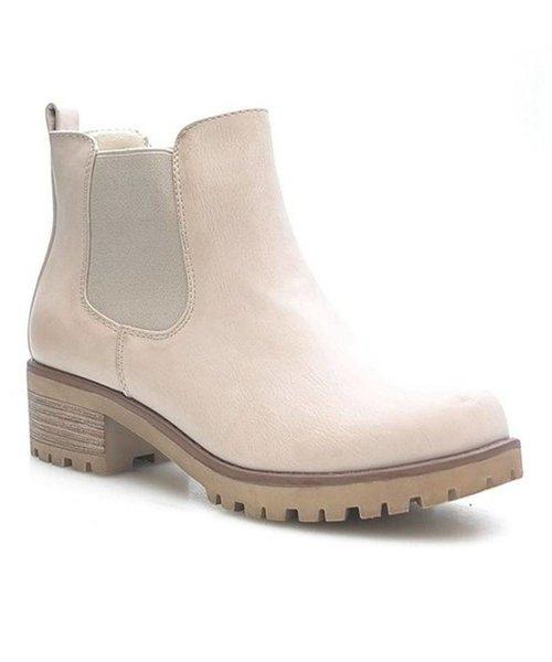 Powder Beige Boots