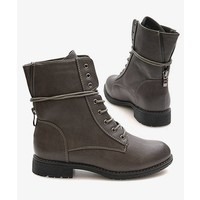 Favorite Biker Boots grey