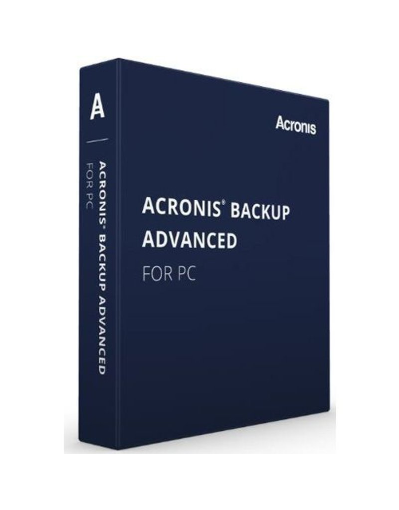 Acronis Acronis Backup Advanced for PC
