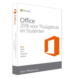 Microsoft Microsoft Office Thuisgebruik & Studenten 2016 1-PC